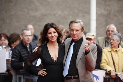 Gina Gershon and William Friedkin